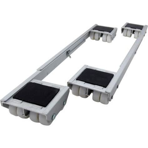 shepherd 18 1 4 28 in aluminum steel appliance rollers