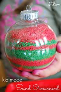 kids homemade christmas ornaments mess for less