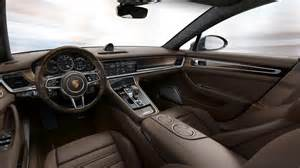 Porsche Panamera Interior Porsche Exclusive Reveals Enhancements For 2017 Panamera