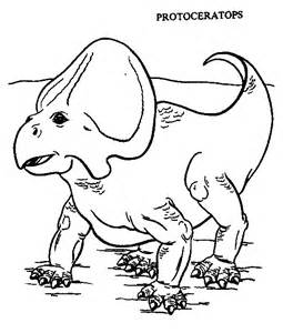 protoceratops dinosaur coloring page color book