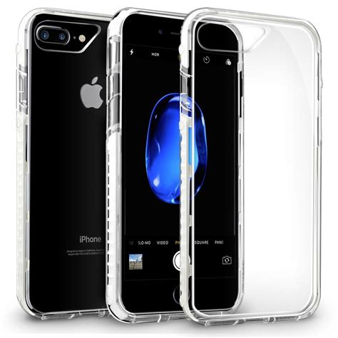 orzly fusion bumper apple iphone 8 plus 7 plus white
