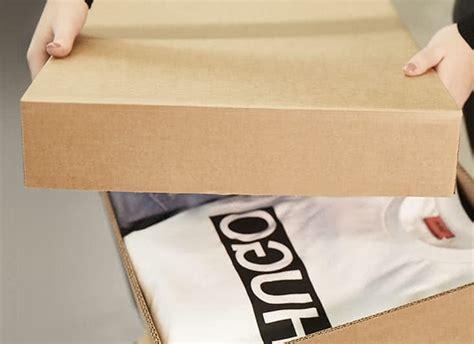 hugo boss group packaging logistics