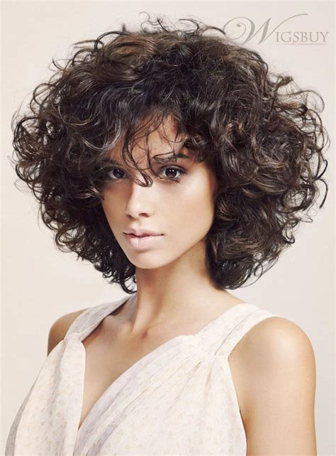 bob haircuts on curly hair fashion trendsetting fluffy medium curly bob hairstyle 150