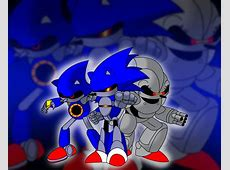 Metal, Mecha, Silver by TheWax on DeviantArt Mecha Mario Vs Metal Sonic