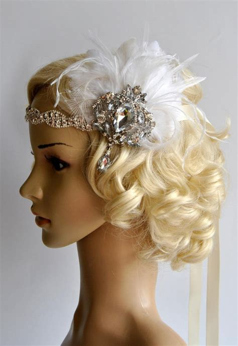 how to make a 1920s hairpiece glamour rhinestone flapper 1920s headpiece rhinestone
