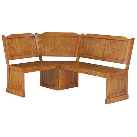 americana bench home styles americana corner bench 224895 kitchen dining at sportsman s guide