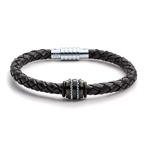 Mens Jewelry by Aagaard Mens Jewelry Leather Bracelet No 1293 Landing
