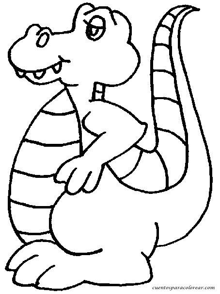 imagenes para pintar tamaño carta dibujos para colorear cocodrilos