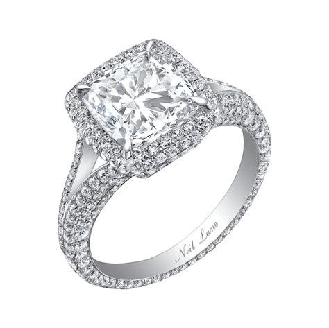 wedding ring neil neil emerald cut engagement rings www imgkid