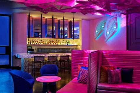 Living Room Bar Los Angeles Inside The W Los Angeles 25 Million Transformation