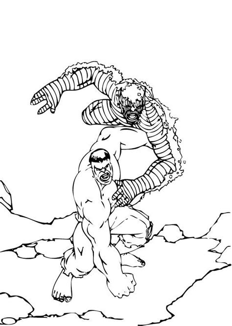 hulk abomination coloring pages abomination fighting the hulk coloring pages hellokids com