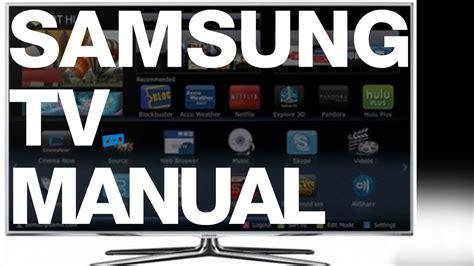 samsung  p hz led smart tv manual   setup