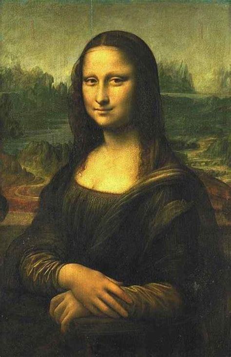 leonardo da vinci mona lisa tablo resimleri tablolar