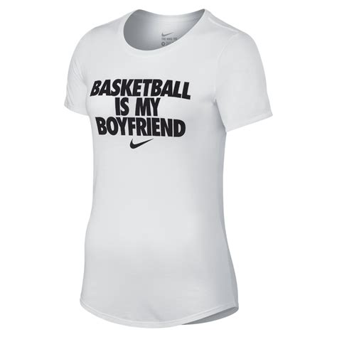 T Shirt Nike My Is lyst nike quot basketball is my boyfriend quot s t shirt