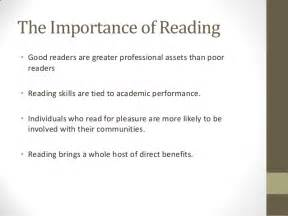 Importance Of Reading Essay by Why Reading Is Important