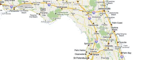 northern florida map with cities commercial services bhhs florida realty