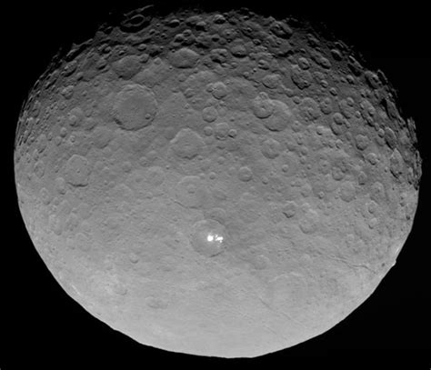 this closest the closest photo yet of the dwarf planet ceres