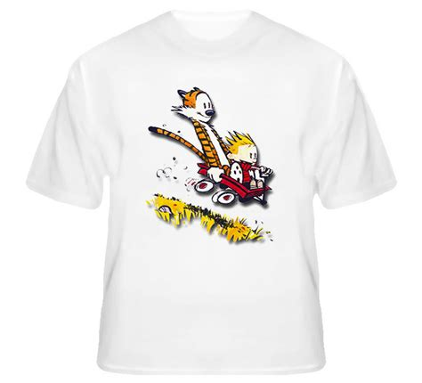 Tshirt E T One Clothing calvin and hobbes t shirt ebay
