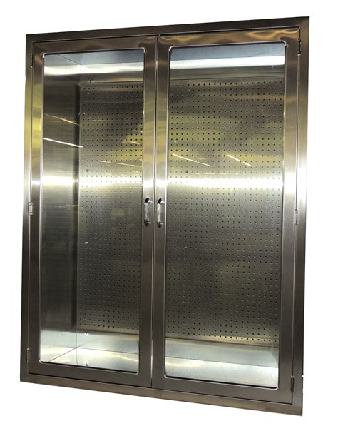 stainless steel cabinets stainless steel accessory cabinet with pegboardcontinental metal products healthcare division