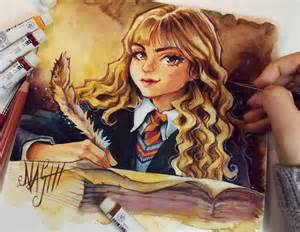 hermione granger by naschi on deviantart