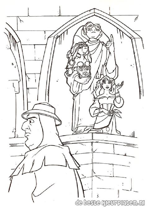 hunchback014 printable coloring pages