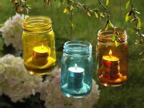 Outdoor Candle Lights Recycled Crafts Turning Clutter Into Creative