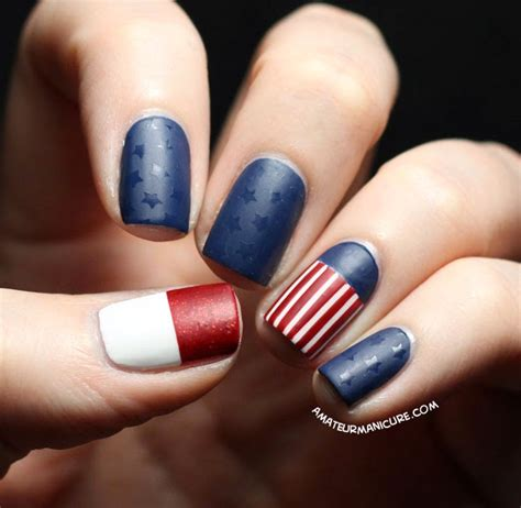 nails design usa amateur manicure a nail art blog stars and stripes for