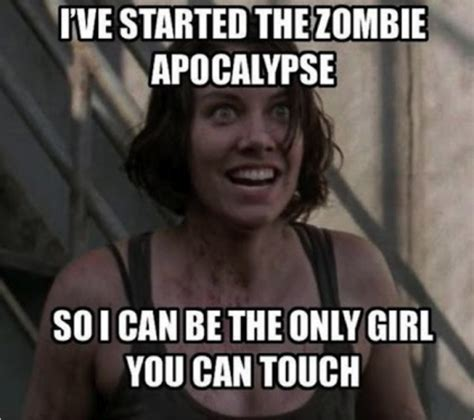 Maggie Meme - 42 more hilarious walking dead memes from season 3 from d