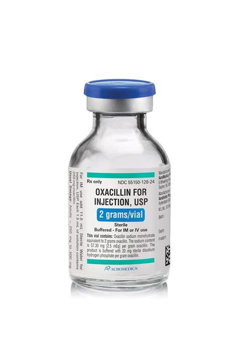 oxacillin  injection auromedics pharma llc