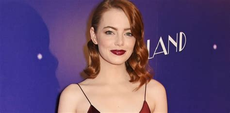 emma stone high school emma stone on high school dropouts and nerves facing the press