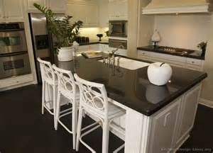 Kitchen Island That Seats 4 by Pictures Of Kitchens Traditional White Kitchen