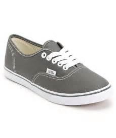 Vans authentic lo pro pewter shoe at zumiez pdp
