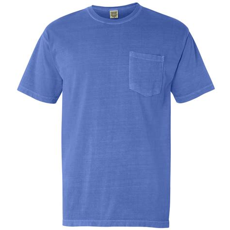 comfort colors flo blue comfort colors 6030 garment dyed heavyweight ringspun