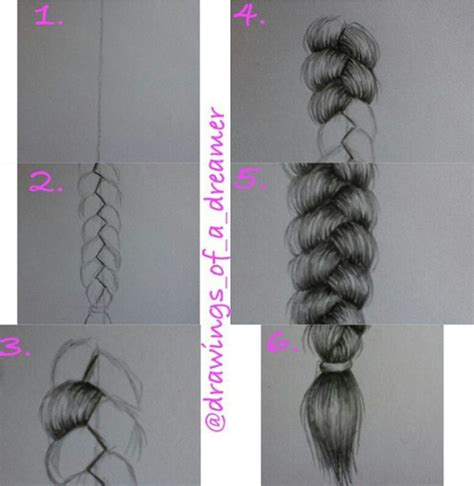 how to do doodle braids 14 b 228 sta bilderna om hair draw p 229 fj 228 drar
