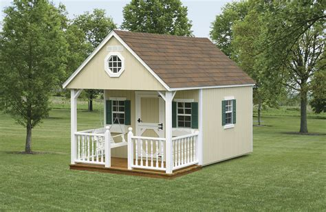 Backyard Cabin by Backyard Schoolhouse Country Shedsnorth Country