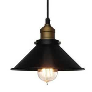 Industrial Kitchen Light Fixtures Nordic Loft Vintage Black Pendant Lights Industrial Iron Pendant Ls Avize Hanging L