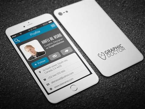 iphone 7 business card template 18 best business card inspiration images on
