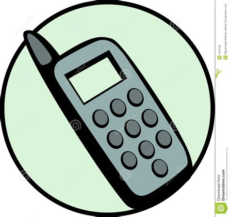 cell phone vector illustration stock photo image