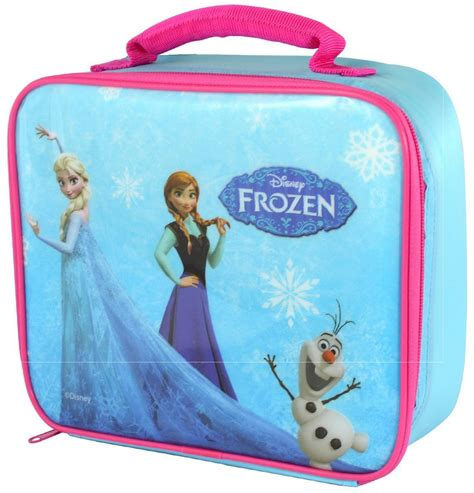 disney frozen lunch bag box and elsa ebay