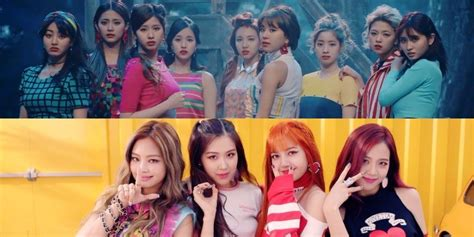 twice and blackpink twice s mvs revealed to have the most dislikes on