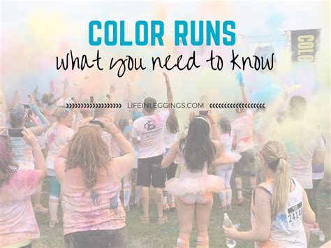 what to wear to a color run what to expect running a color run in