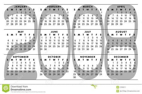 Calendario Ano 2008 Calendario 2008 Imagen De Archivo Imagen 2783011