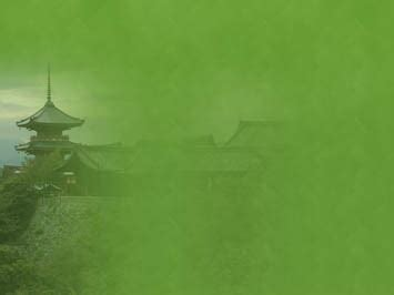 buddhist temple  powerpoint templates