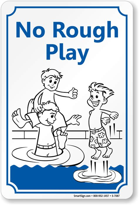 rough definition of rough by the free dictionary attention no rough play sign with graphic sku s 7087