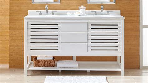 crate and barrel bathroom vanity information