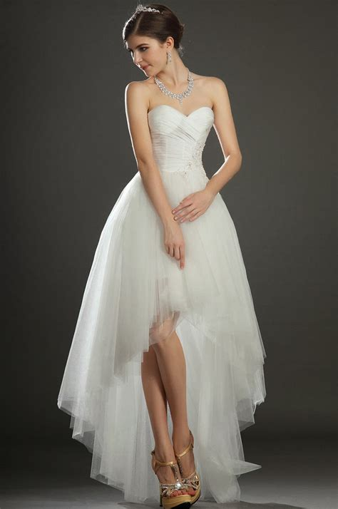 chic short dress stylish high  style wedding dresses