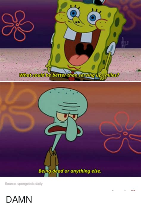 Spongebob Memes Tumblr - what could be better than serving up snnies being dead or