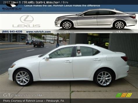 white lexus is 250 2012 starfire white pearl 2012 lexus is 250 awd ecru