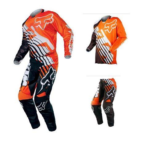 fox motocross gear combos 2015 fox racing 360 ktm orange black mx riding jersey
