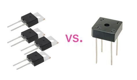 diode vs rectifier audio bridge rectifier 4 diodes vs single chip electrical engineering stack exchange
